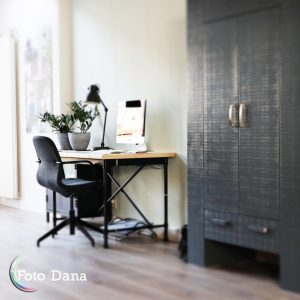 werkplek, bureau, thuiswerken